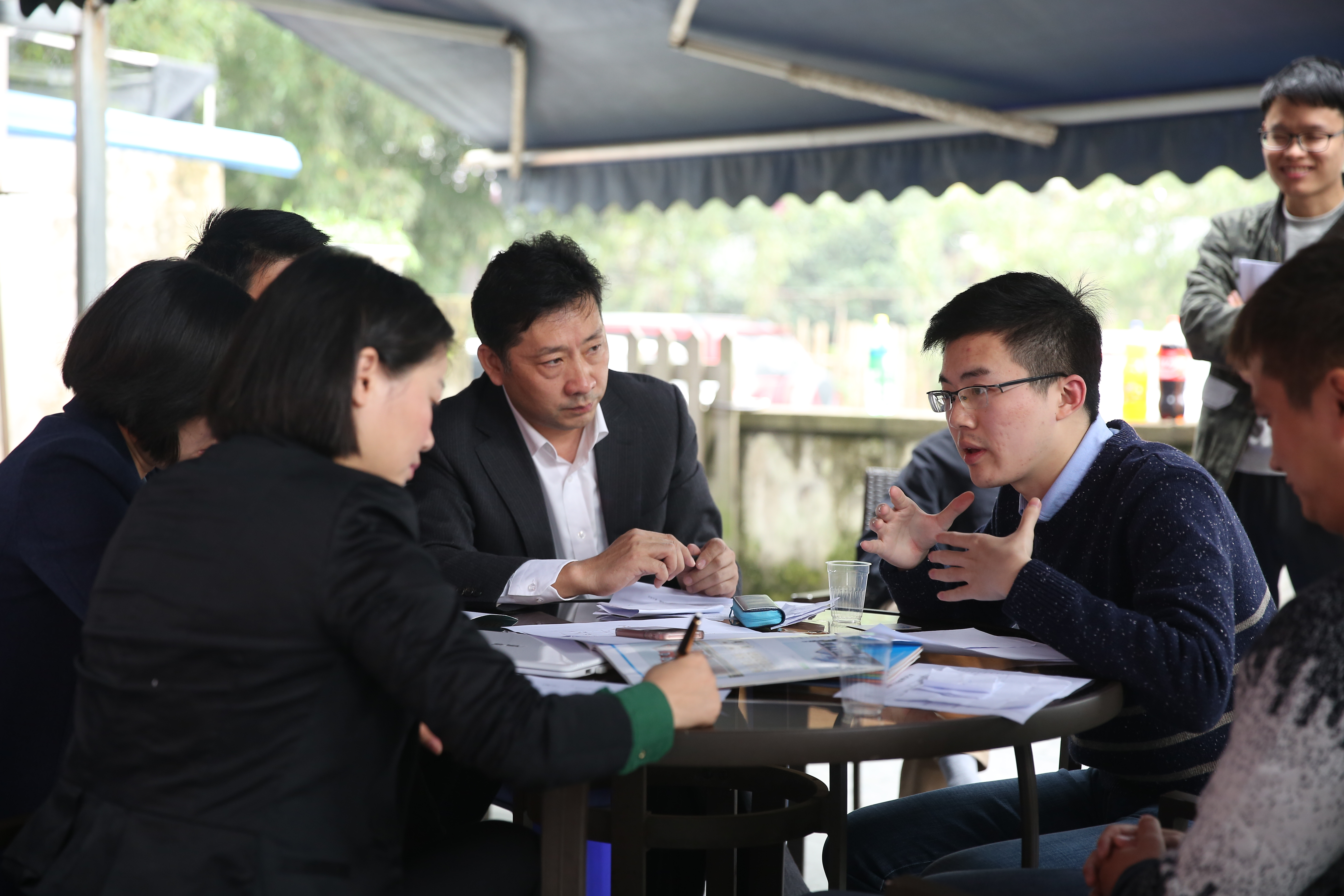Chairman of PTH, Mr. Zhang took part in the PK