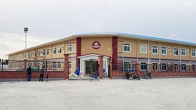 double story school