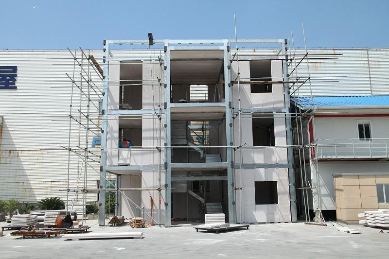 2017 Economical Environmental Light Steel Prefab Villa