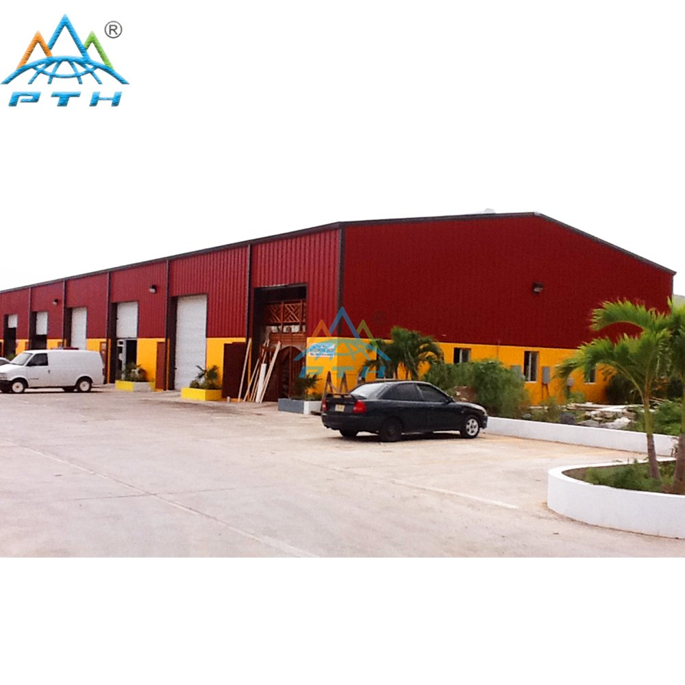 Steel Structure Logistic Center Building