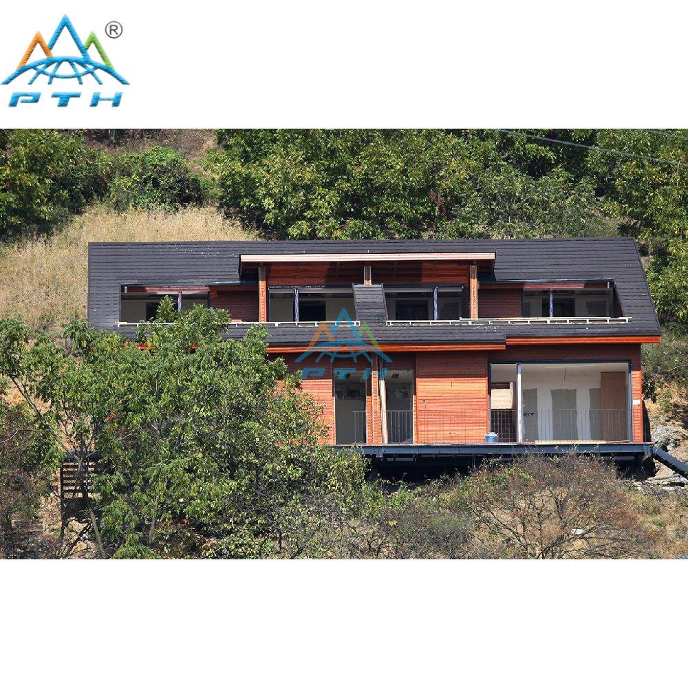 2017 Hot Sale Prefabricated Luxury Light Steel Prefab Villa