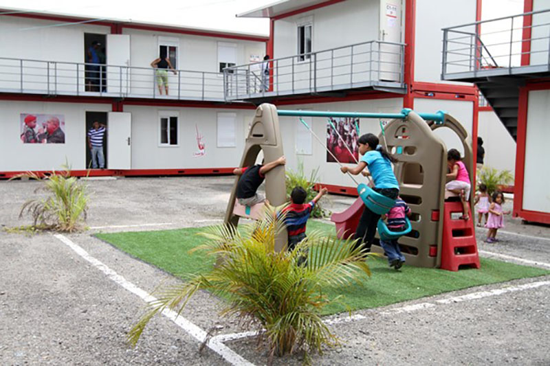Venezuelan container house