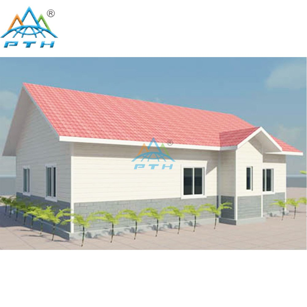 Light Steel Villa 93 square meter (3 bedrooms and 1 washroom)