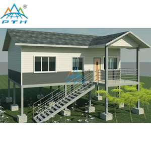 Light Steel Villa 60 square meter (3 bedrooms and 1 washroom)