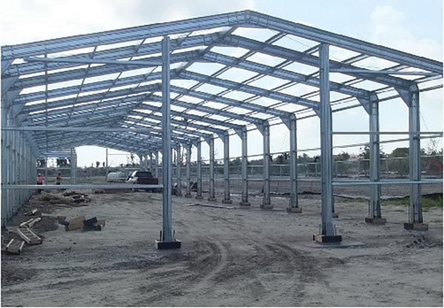 The steel structure project located in Peru