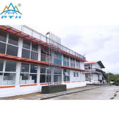Hot Sale 20ft Prefab Luxury Living Container House Hotel Room In Philippines