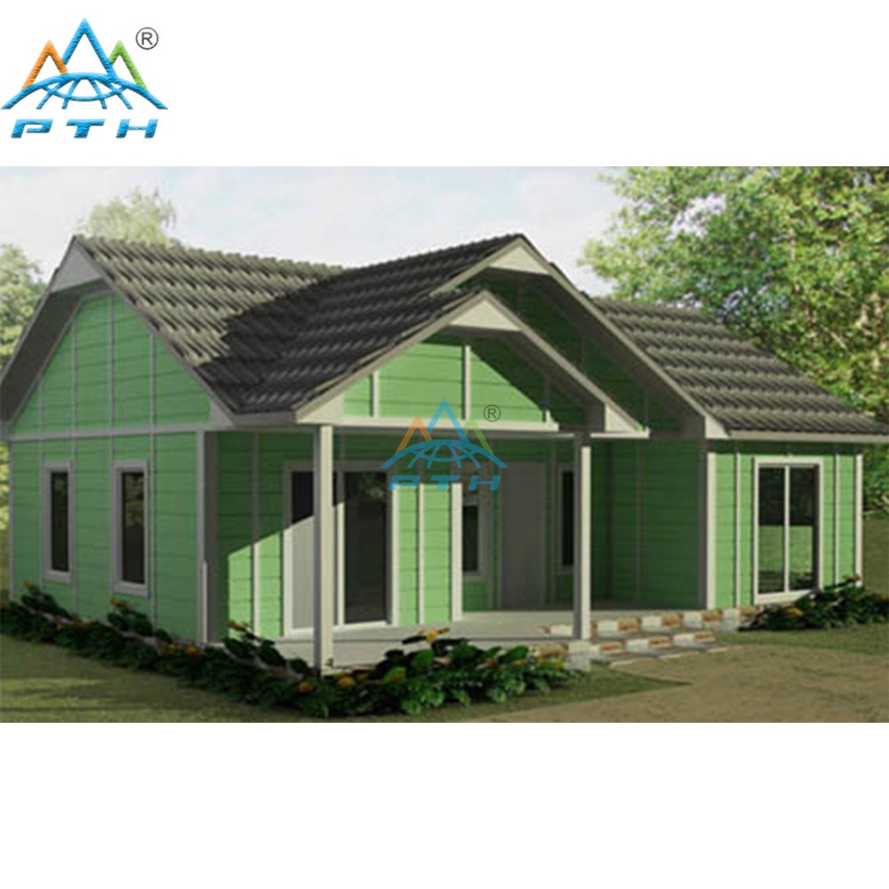 Light Steel Villa 161 square meter (2 bedrooms and 1 washroom)