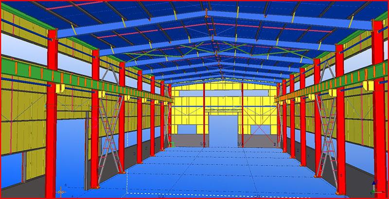 steel structure customization