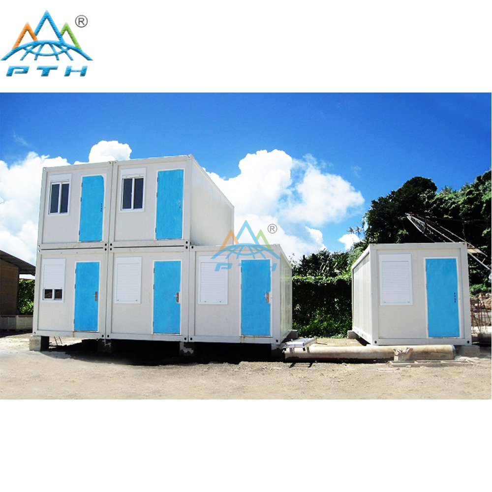 Flat Pack and Size Customized Prefabricated Container House for Office/Living Home