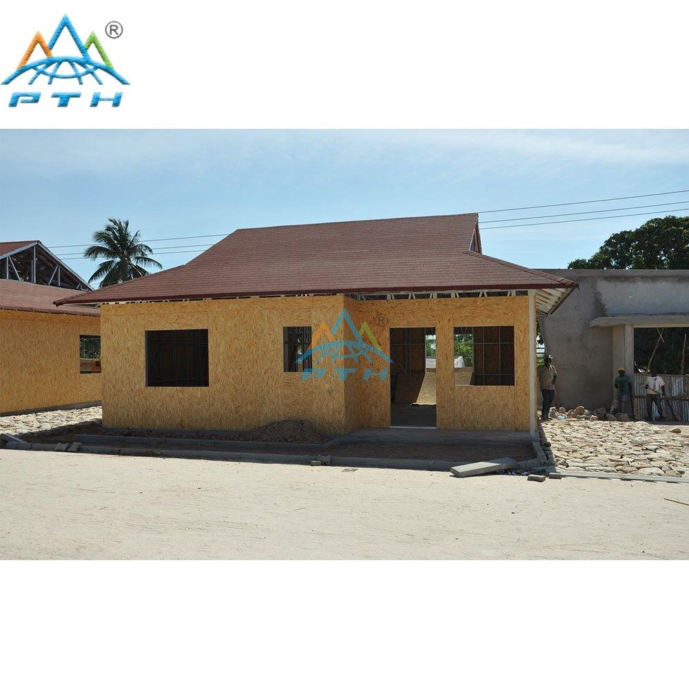 Prefabricated Luxury Light Steel Villa As Resort Hotel In Mozambique