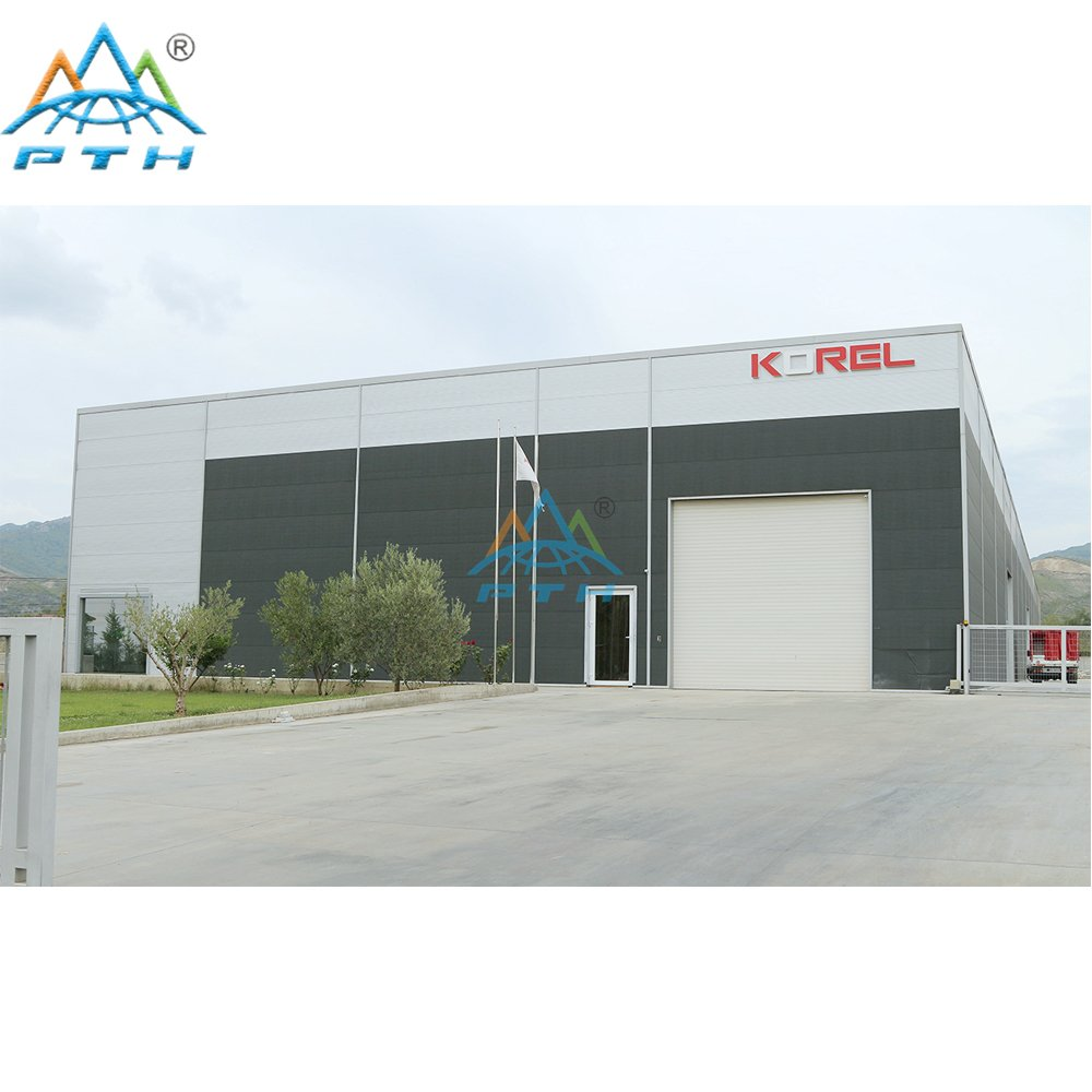 Steel Structure Workshop in Albania