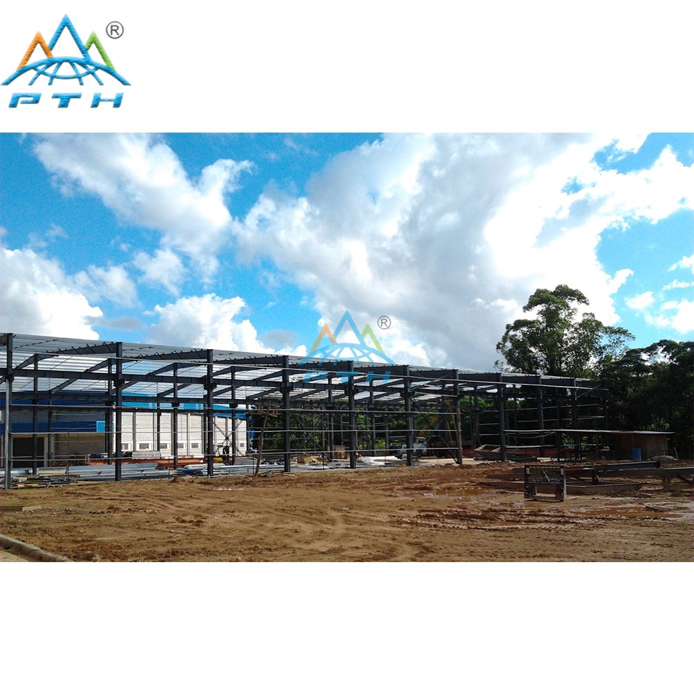 Steel Structure Building for Workshop Bulidings