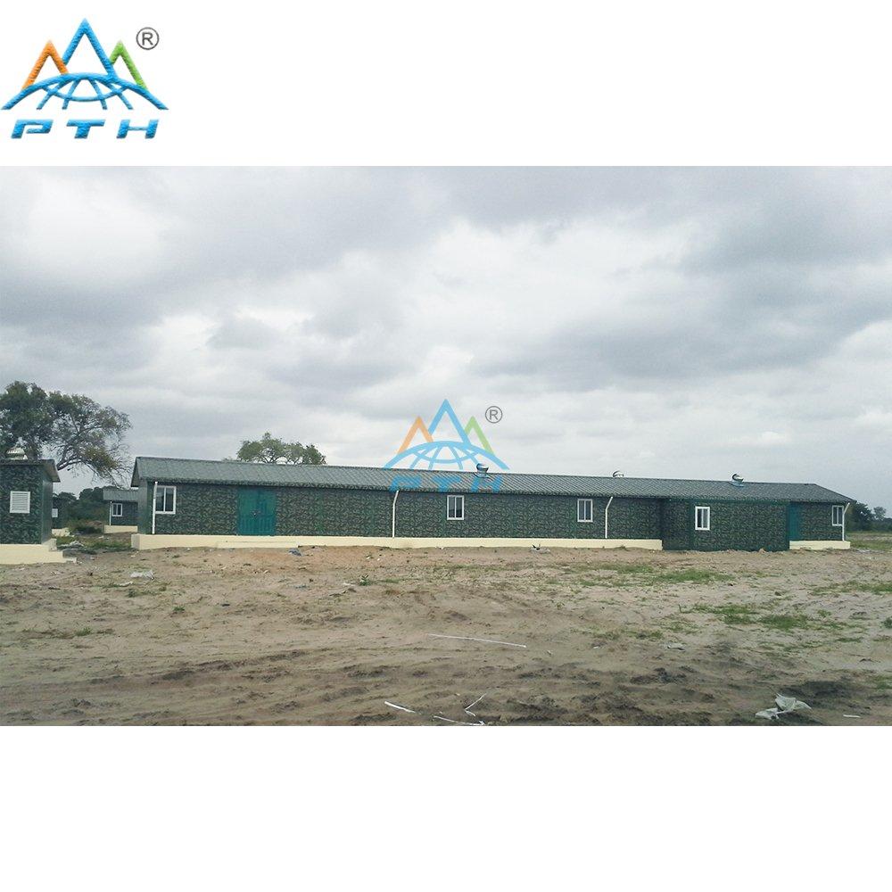 Military Camp in Maputo, Mozambique