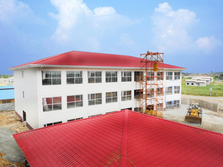 Steel Structure Hotel project in Gabon.jpg