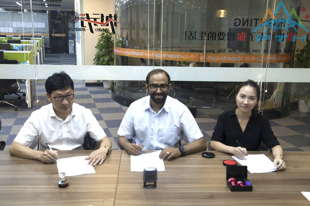 Customers from Saudi Arabia Visited Zhejiang Putian Housing intergrated