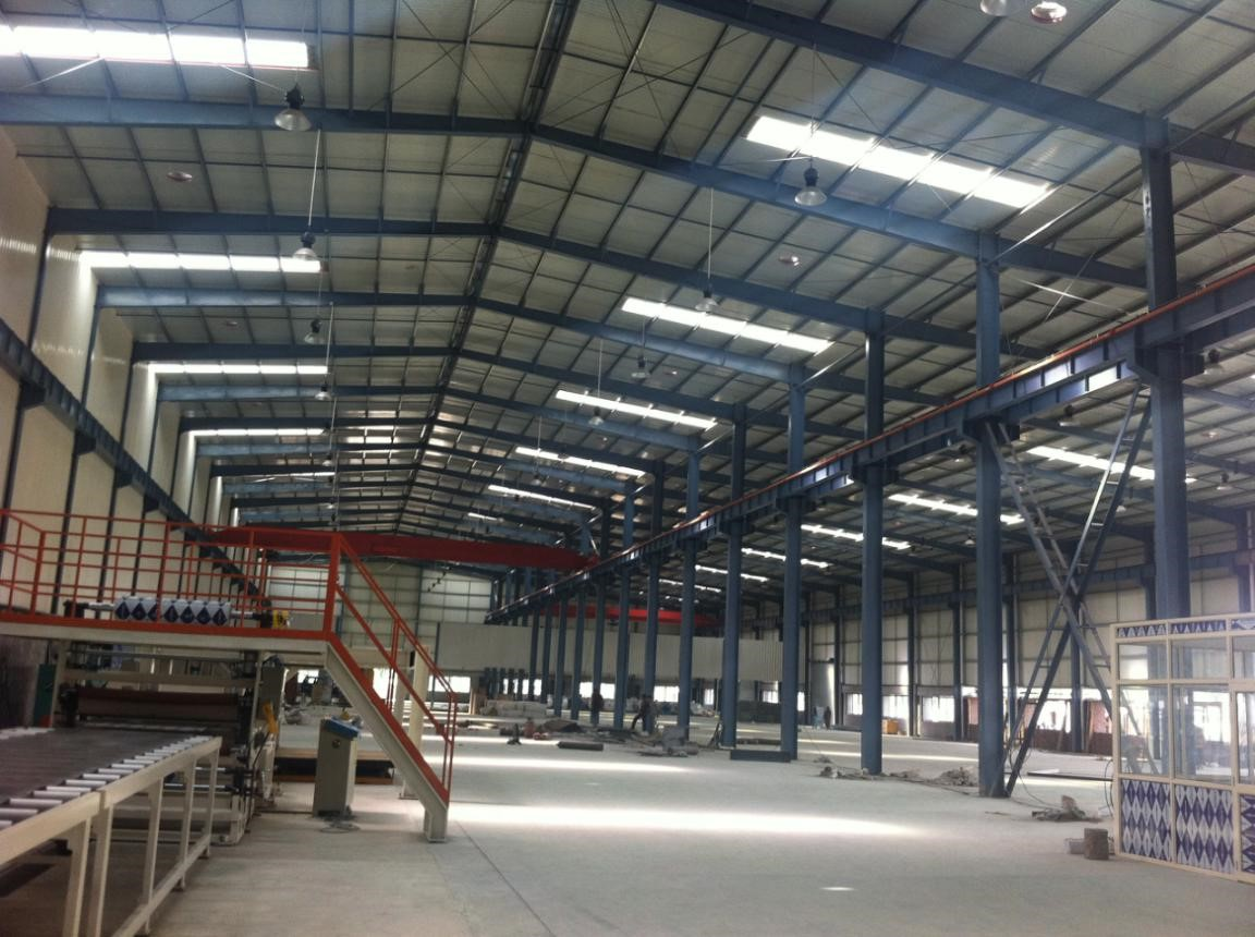 Steel Structure Warehouse project in India