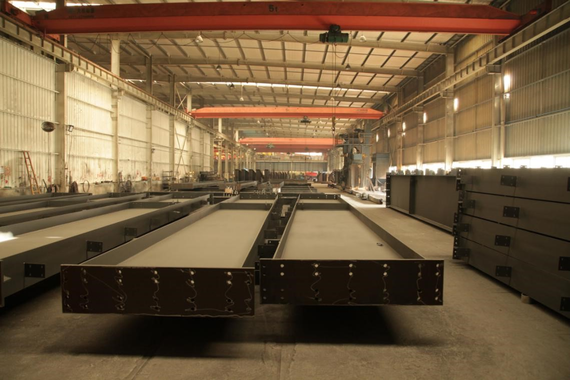 steel structure building real picture of warehouse