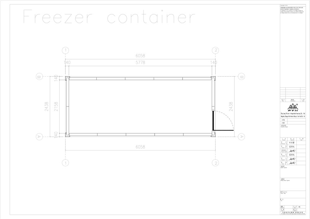 refrigerated storage container design dimensions-1