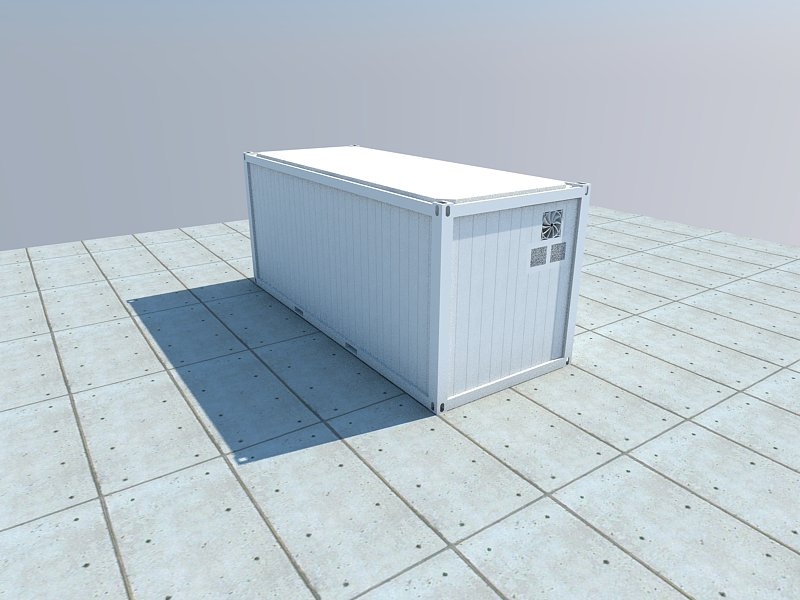 refrigerated storage container external photo