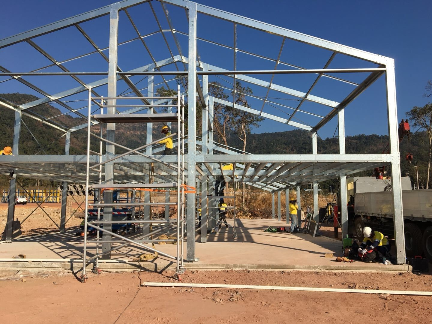 Double-C Structure Building, A High Quality Choice for Camp Solutions