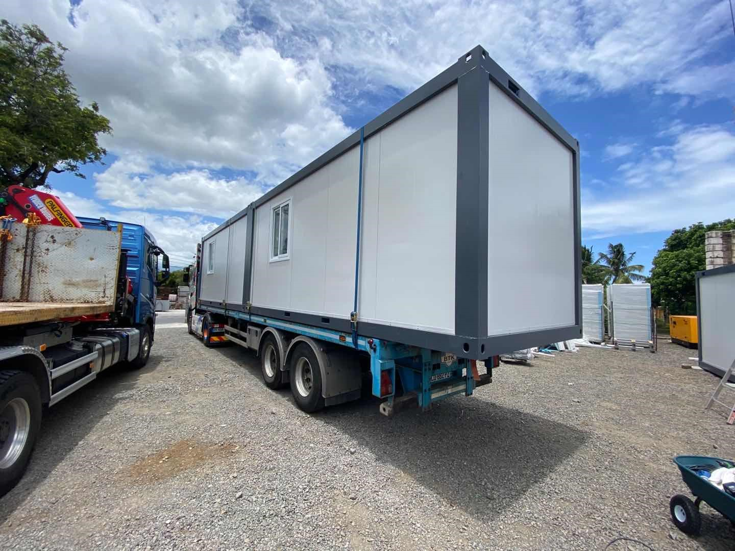 PTH container house is easy to tansport on and off site-1